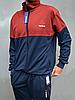Мужской спортивный костюм Reebok (Рибок) | Турция, Трикотаж лакост, Большие размеры: 50-56