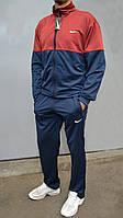 Мужской спортивный костюм Nike (Найк) | Турция, трикотаж-лакоста, БОЛЬШИЕ РАЗМЕРЫ: 48-56
