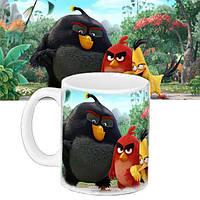 Кружка детская с принтом Angry Birds 656589601