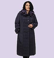 Женское зимние пальто-пуховик. Модель 10-А. Размеры 62-66 7c573059fce0e