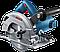 Пила дискова Bosch GKS600 Prof. циркул.ручна (1,2кВт; 165х30мм; гл.55мм) 0.601.6A9.020