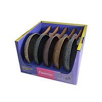 Сковорода для жарки Fissman MONBLANE STONE 26 см. (Каменное антипригарное покрытие c индукционным дном)