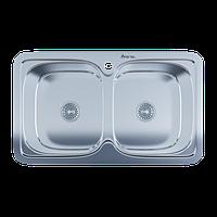 Мойка для кухни врезная 401 Polish 0.8 мм