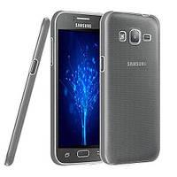 TPU чехол Ultrathin Series 0,33mm для Samsung J200H Galaxy J2 Duos Бесцветный (прозрачный)