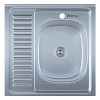Мойка для кухни накладная 6060R Decor 0.6 мм