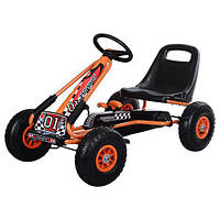 Детская педальная машина веломобиль Карт M 0645-7