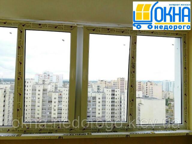 Остекление балконов и лоджий Киев