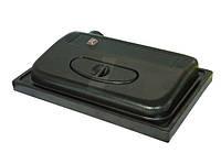 Аквариумная крышка Кристел КП-50/30м, прямоугольная, черная, 50х30 см
