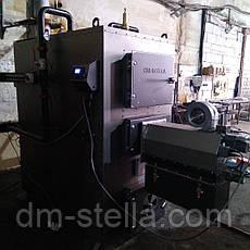 Пеллетный предтопок 200 кВт (пеллетная горелка высокой мощности) DM-STELLA , фото 2