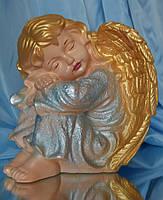Ангел спит №16; 24 см. (цветной) Полимер