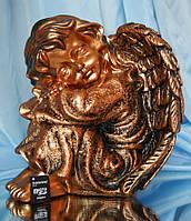 Ангел спит №16; 24 см. (бронза) Полимер