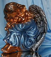 Ангел спит №16; 24 см. (бронза цветная) Полимер
