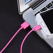 Кабель Micro USB Orico FDC-10 для зарядки и передачи данных (Розовый, 1м), фото 2