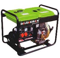 Дизельная электростанцияDALGAKIRAN DJ7000DG-E открытого типа