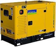 Дизель генератор 12 кВтAKSA APD16A в кожухе
