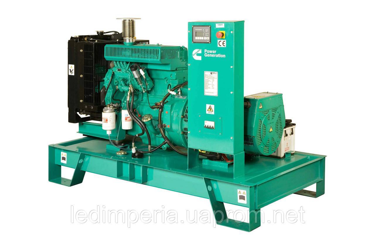 Дизельный генератор 25 кВт SDMO T33Kв кожухе