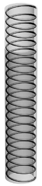 Шланг полиуретановый, стойкий к гидравлическому маслу, —20°С/+90°С, 1461-40