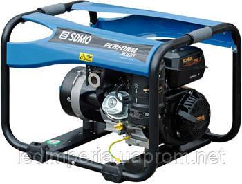 Бензиновый генератор 3 кВт SDMO PERFORM 3000 XL открытого типа