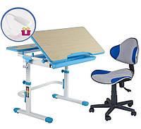 Парта трансформер Lavoro и детское кресло LST3, 2 цвета