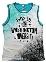 """Борцовка для мальчиков """"Washington University"""" 140-176 см"""