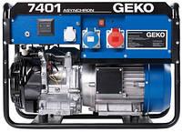 Бензогенератор 6,58 кВт Geko 7401 ED-AA/HEBA открытого типа