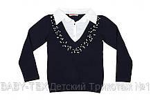 Пуловер (обманка) для дівчаток 128-164 див.