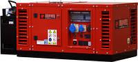 Электростанция бензиновая 10 кВт EUROPOWER EPS12000E в кожухе