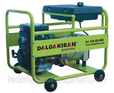 Генератор бензиновый 10 кВт DALGAKIRAN DJ150BS-TE открытого типа