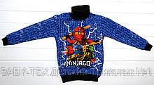 """Водолазка для мальчиков """"Ninjago"""" 5-8 лет, утепленная"""