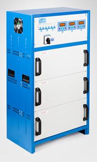 Тиристорный стабилизатор напряжения 35 кВт Прочан СНОПТ-35.0