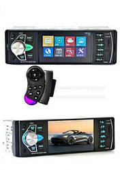 Автомагнитола с дисплеем, пультом на руль и DVR 4022D