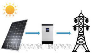 Солнечная электростанция для дома 10 кВт