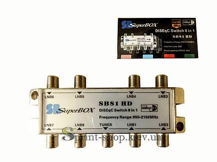 Коммутатор DiseqC - 8 SuperBox, фото 2