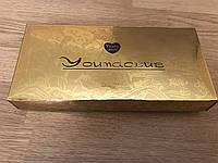 Золотая коробка для упаковки 26*12*4 см