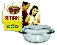 Кастрюля для микроволновки Simax 0,7 л.