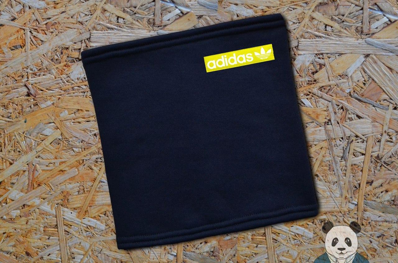 Бафф черный с уникальный логотипом Adidas