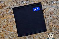 Теплый зимний бафф, нашивка Nike, фото 1