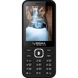 Кнопочный мобильный телефон Sigma mobile X-Style 31 Power Black