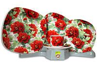 Столовый сервиз набор посуды тарелки и чашки на 6 персон