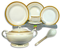 Столовый набор сервиз посуды 33 предмета