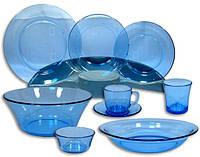 Столовый набор сервиз посуды 44 предметастекло