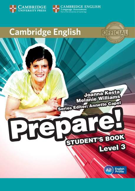 Cambridge English Prepare! 3 Student's Book (Учебник)