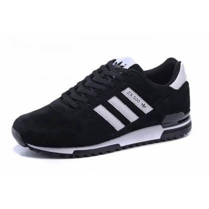 Adidas ZX-500 Black White Suede