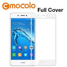 Защитное стекло Mocolo Full сover для Huawei Enjoy 6S белый