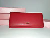 Кошелек, клатч, портмоне женский фирменный BALISA коллекция 2018 года красный магнит