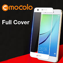 Защитное стекло Mocolo Full сover для Huawei Nova Plus белый