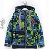 Демисезонная куртка для мальчика с отстежными рукавами интернет магазин, фото 3