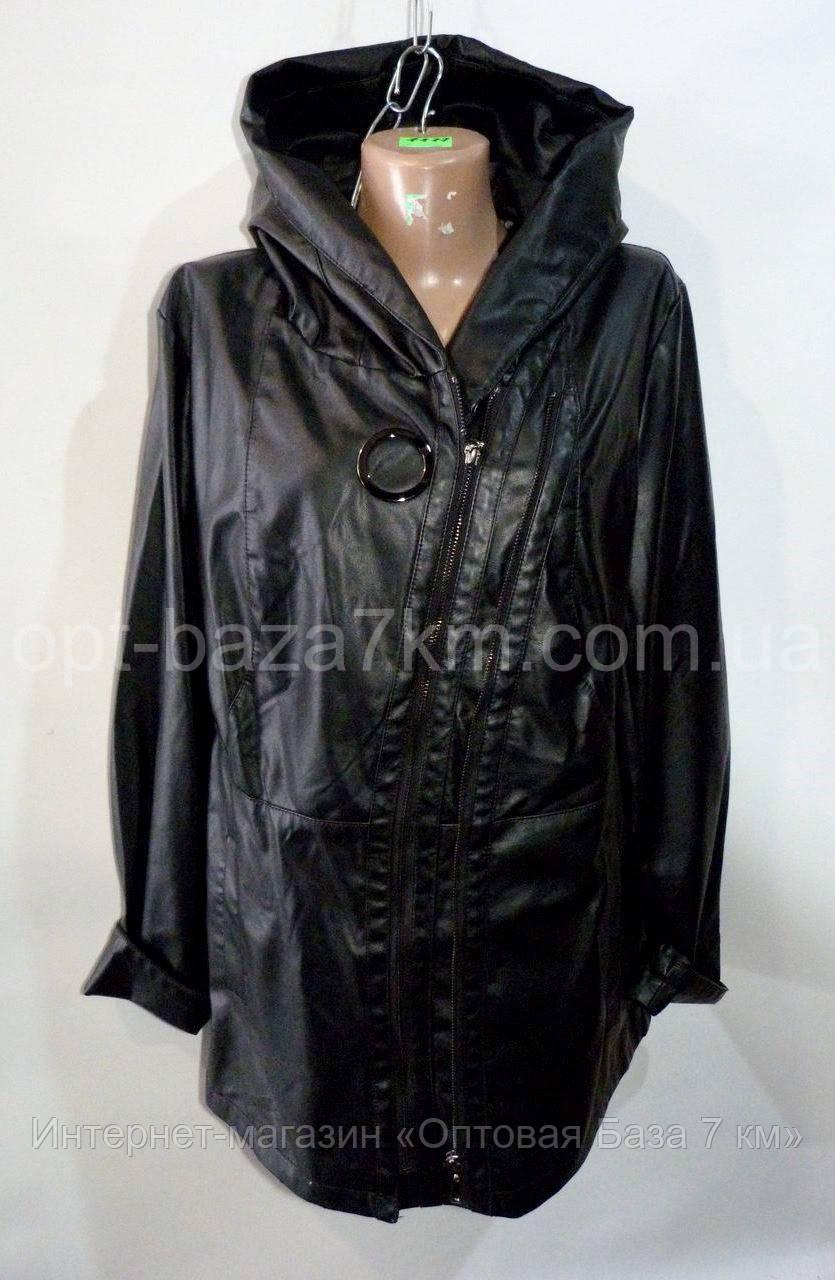 2eb700a7 Куртки женские оптом MAX&HT, кожзам (50-62 батал), цена 583 грн., купить в  Одессе — Prom.ua (ID#662414942)