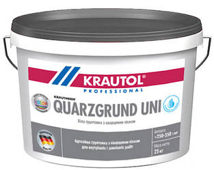 Грунт с кварцевым песком KRAUTOL QUARZGRUND UNI адгезионный 25кг