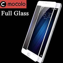Защитное стекло Mocolo 2.5D 9H на весь экран для Meizu M3 Max белый